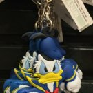 DISNEY PARKS ANGRY DONALD DUCK DANGLING KEYCHAIN NEW WITH TAGS