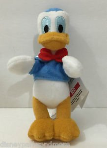 "DISNEY PARKS MAGNET PLUSH DOLL 4"" FEAT. DONALD DUCK NEW WITH TAGS"