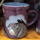 Disney Park Eeyore From Winnie The Pooh Beaded Ceramic Mug Cup New
