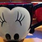 Disney Parks Minnie Mouse Mug Cup Eyes Signature Coffee Tea New