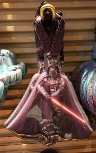Disney Parks Star Wars Darth Vader Plastic Luggage Tag New