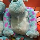Disney Parks Monsters Inc Mike & Sulley Flip Pillow Plush New With Tags