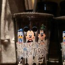 Disney Parks Twilight Zone Tower of Terror Travel Tumbler with Straw (Set of 2)