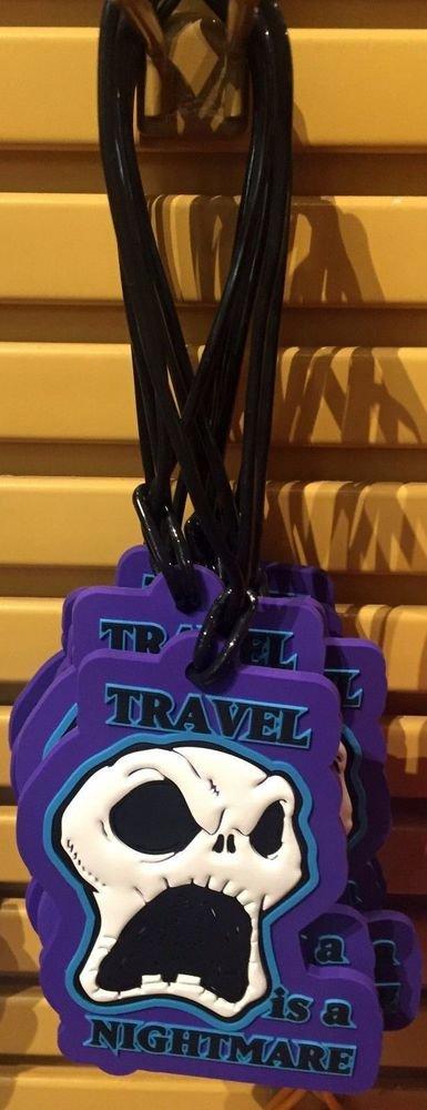Disney Parks Nightmare Before Christmas Jack Skellington Luggage Travel Tag New