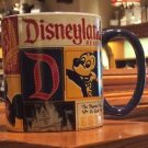 Disneyland Resort D Est. Patchwork Mickey Mouse Ceramic Mug New