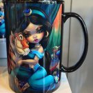 Disney WonderGround Princess Jasmine & Rajah Mug Cup by Jasmine Becket-Griffith