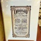 Disneyland Disney Parks Joy and Inspiration Deluxe Print by Jeremy Fulton NEW