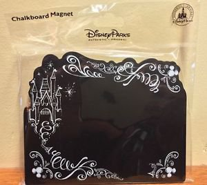 Disney Parks Princesses Castle Chalkboard Magnet Aurora / Cinderella New