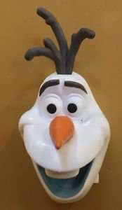 Disney Parks Exclusive Olaf from Frozen 3D Magnet Head New