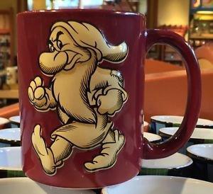 Disney Parks Disneyland Grumpy Ceramic Mug Cup New 16oz