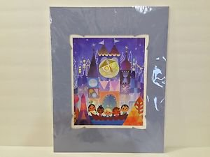 Disney WonderGround Gallery It's A Small World The Happiest Crew Print Joey Chou