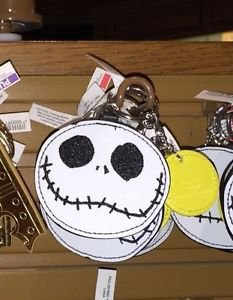 Disney Parks Jack Skellington Keychain New With Tags