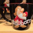Disney Parks Personality Grumpy Ceramic Mug Cup New 12oz