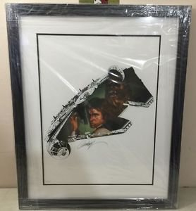 Disney WonderGround Star Wars The Rebel Within LE Giclee Print by J Scott Campbe
