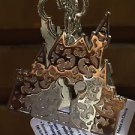Disney Parks Mickey Mouse Keyhole Castle with Key Charm Metal Keychain New
