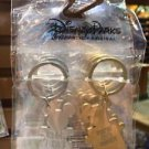 Disney Parks Mickey & Minnie Mouse Key Ring Keychain Set New