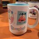Disney Parks Cute Character Mickey & Minnie Mouse Disneyland Resort Ceramic Mug