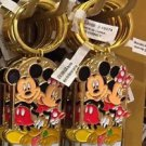 """Disney Parks Mickey Minnie Pluto Keychain """"Nana"""" New With Tags"""