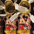 Disney Parks Mickey Minnie Pluto Keychain I Love the Beach, I Love the Mountains