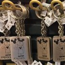 Disney Parks Girl with Ear Hat Metal Keychain Patricia / Rachel / Rebecca /Riley