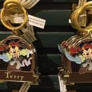 Disney Parks Pirate Mickey Metal Keychain #1 Brother / Terry / Black / Best Dad