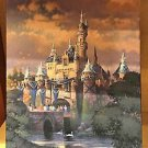 Disneyland Diamond Celebration Sleeping Beauty Castle Canvas Print Brian Jowers