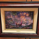Disney Parks Thomas Kinkade Tangled LE Canvas Print by Thomas Kinkade Studios
