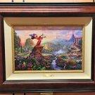 Disney Parks Sorcerer Mickey Fantasia LE Canvas Print by Thomas Kinkade Studios