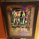 Disney Parks Limited Edition Tiki Room Party Shadow Box by Dave Avenzino