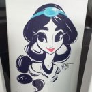 Disney WonderGround Princess Jasmine Giclee Limited Edition by Whitney Pollett