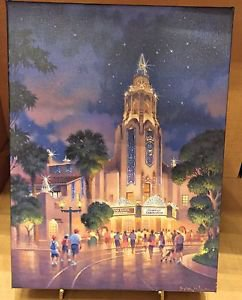 Disney California Adventure Carthay Circle Canvas Wrap Print by Brian Jowers New