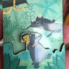 Disney WonderGround JUNGLE BOOK BEAR NECESSITIES Acrylic Magnet by Ben Burch NEW