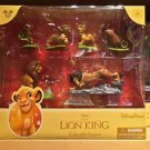 Disney Parks Lion King 6 Figurine Playset Play Set New in Box