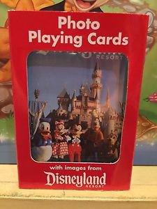 Disneyland Park Photo Playing Cards New