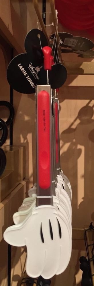 """Disney Parks Exclusive Best of Mickey Hand 12"""" Kitchen Tongs"""