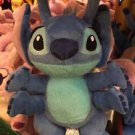 "Disney Parks Lilo and Stitch Experiment 626 Stitch Plush Doll 9"" H New"