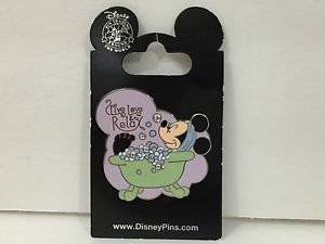 Disney Parks Trading Pin Feat. Minnie Mouse Live Love Relax New
