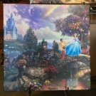 Disney Parks Cinderella Gallery Wrap Print by Thomas Kinkade Studios New