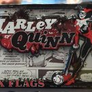 Six Flags Magic Mountain DC Villain Harley Quinn Magnet New