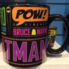 Six Flags Magic Mountain DC Batman Boom 20oz. Ceramic Mug Cup New