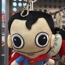 Six Flags Magic Mountain DC Superman Plush Keyring Keychain
