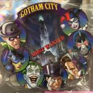 Six Flags Magic Mountain DC Villains Gotham City Acrylic Magnet New
