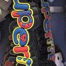 Six Flags Magic Mountain Bobble Head Superman Keyring Keychain New