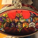 Six Flags Magic Mountain DC Vile & Villainous Keyring Metal Keychain New