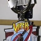 Six Flags Magic Mountain Attraction Viper Metal Keychain New