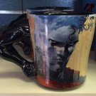 Six Flags Magic Mountain Superman Arm Handle Ceramic Mug Cup New