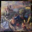 Disney Parks Beauty & The Beast Canvas Wrap Print by Thomas Kinkade Studios New