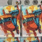 Six Flags Magic Mountain DC Hero Superman American Hero Acrylic Magnet New