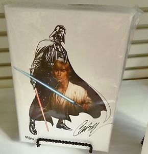 Disney WonderGround Star Wars The Force Within LE Giclee by J Scott Campbell New