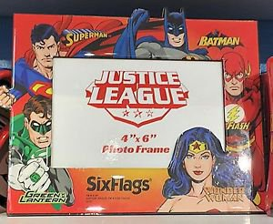 Six Flags Magic Mountain DC Justice League Wonder Woman Picture Photo Frame New